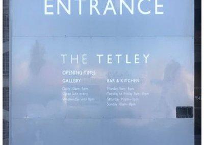Tetleys Shopfront Colour Change (Before)