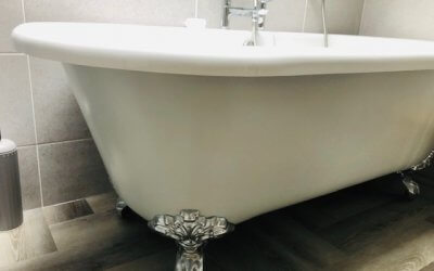 Rolltop Bath Sprayed – Farrow & Ball