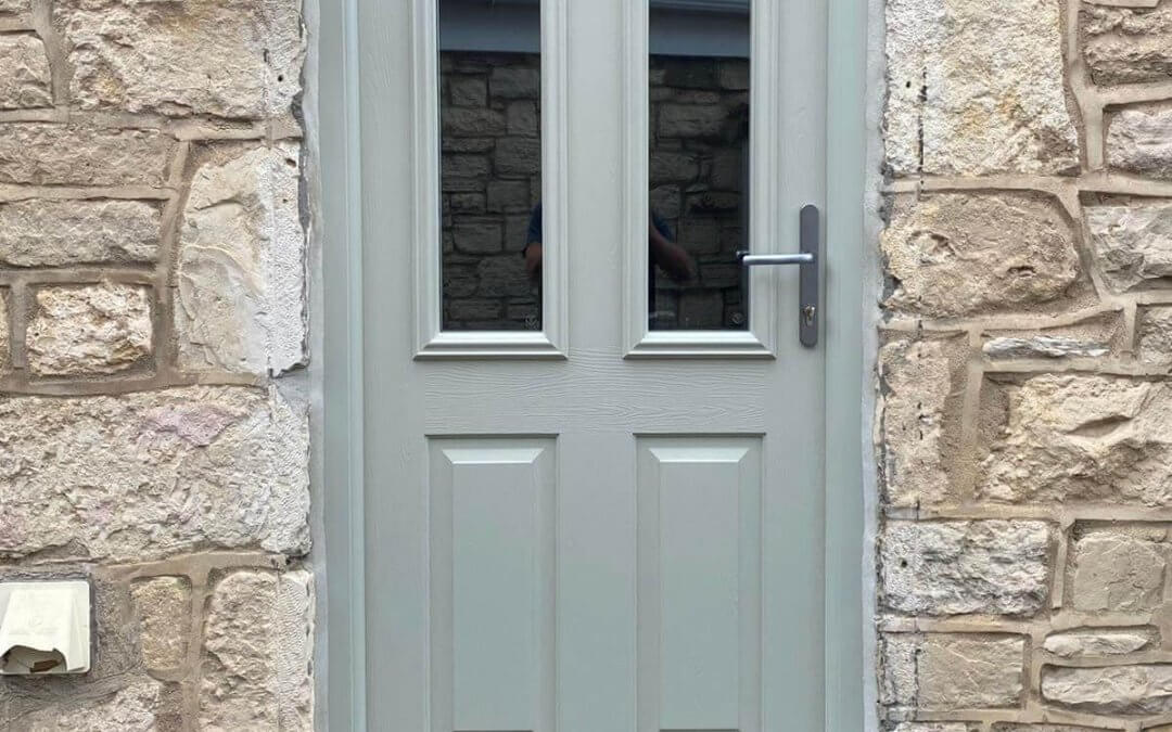 Blue Grey to Pebble Grey Door Colour Match