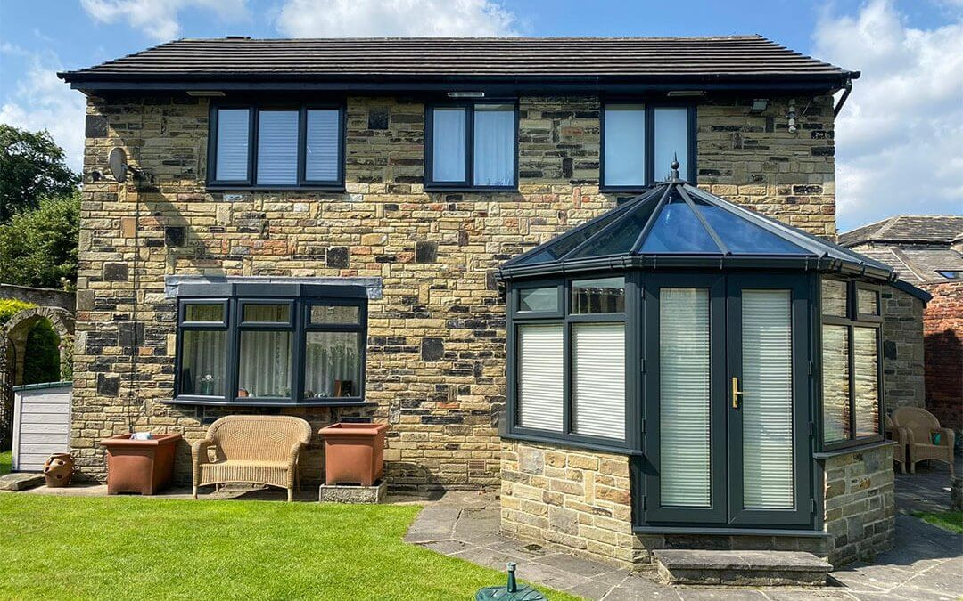Rosewood Conservatory to Anthracite Grey